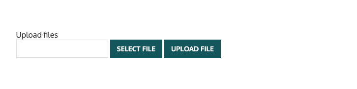 Upload File Page